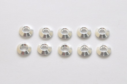 87044S Alum Collar 3.2x10mm, 10PCS picture