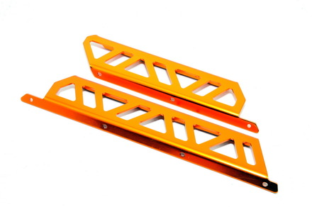 91002RG CAGE SIDE GUARDS (ORANGE)  (Cage & SS) picture