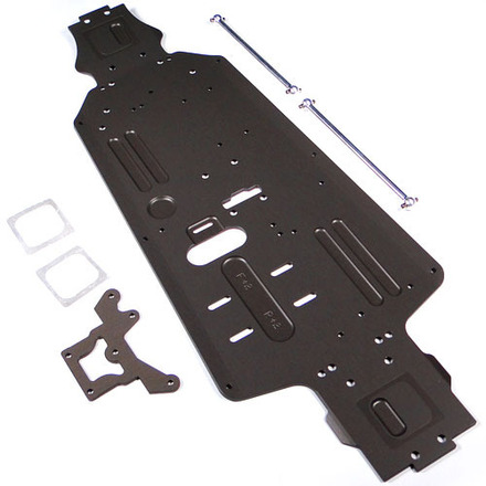 88200 Cnc Alum Chassis  - Front + 2Mm Rear + 2 Mm picture