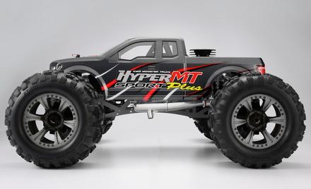 1/8 Hyper MT plus Nitro RTR w/ 30 Turbo Engine (Grey Body) picture