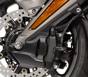 Black Front Caliper Covers
