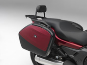 Saddlebag Panel (Candy Alizarin Red)