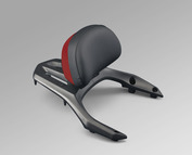 Backrest with Pad (Candy Red)