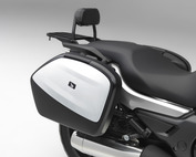 Saddlebag Panel (Pearl White)