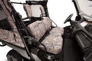 Front Seat / Headrest Covers (Camo)