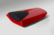 Passenger Seat Cowl (Red)