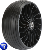MICHELIN® X® TWEEL® TURF CASTER Airless Radial Tire <br>for Zero Turn Radius Mowers 13x6.5N6