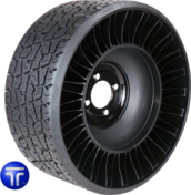 MICHELIN® X® TWEEL® TURFAirless Radial Tire for Golf Carts18x8.5N10205/50N10