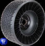 MICHELIN® X® TWEEL® TURF Airless Radial Tire for Zero Turn Radius Stand-On Mowers 18x8.5N10