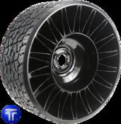 MICHELIN® X® TWEEL® TURF<br>Airless Radial Tire<br>for Zero Turn Radius Mowers 26x12N12