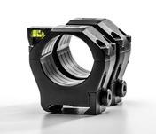 "30mm Ultralight 1913 MS Rings w/ Level - HIGH (1.18"" / 30mm) - Aluminum 7075-T6"