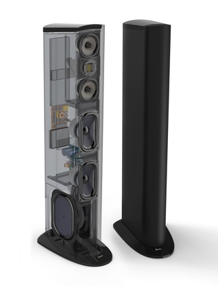 Triton Two+ Floorstanding Tower Loudspeaker with Built-In 1200 Watt Powered Subwoofer (ea) picture
