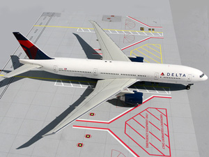 Delta B777-200LR picture