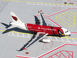 "US Airways ""Arizona Cardinals"" A319 picture"