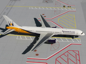 Monarch B757-200 picture