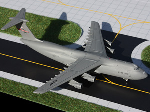 GeminiMACS 1:400 US Air Force C-5 Galaxy (Westover AFB) picture