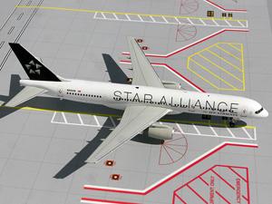 "US Airways B757-200 ""Star Alliance Livery"" picture"