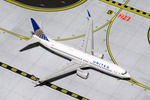 GeminiJets 1:400 United Airlines 737-800S