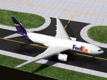 GeminiJets 1:400 FedEx 777-200LRF w/ stand