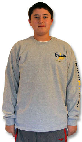 Gray Long-Sleeve T-Shirt (Large) picture
