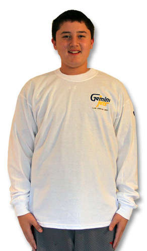 White Long-Sleeve T-Shirt (XL) picture