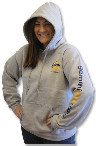Gray Hooded Sweatshirt (XL) picture