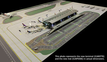 GeminiJets 1:400 Scale Airport Terminal picture