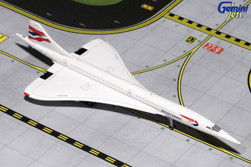 GeminiJets 1:400 British Airways Concorde G-BOAF picture