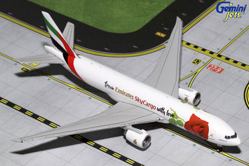 "GeminiJets 1:400 Emirates SkyCargo 777F ""With Love"" picture"