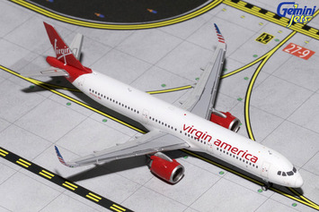 GeminiJets 1:400 Virgin American Airbus A321neo picture