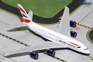 GeminiJets 1:400 British Airways A380-800 picture