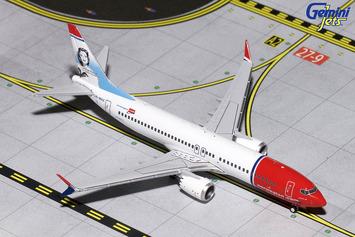 GeminiJets 1:400 Norwegian Boeing 737 MAX 8 picture