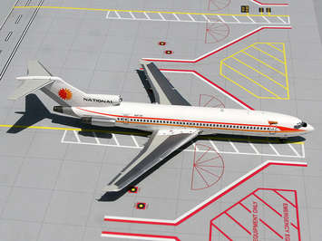 NATIONAL AIRLINES &quot;SUNKING&quot; B727-200 picture