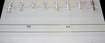 GeminiJets 1:200 scale Airport Mat Set picture