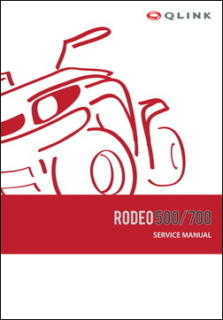 Service Manual - Rodeo 500/700 picture