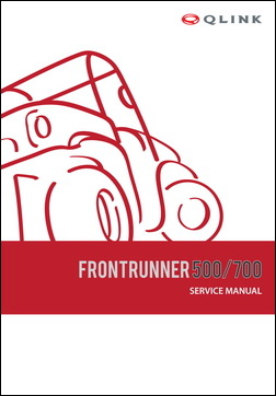 Service Manual - FrontRunner 500/700 picture