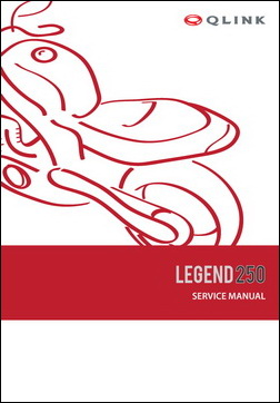 Service Manual - Legend 250 picture