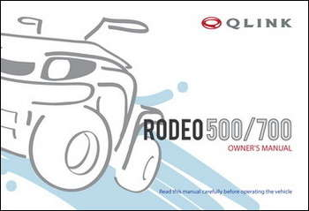 Owner's Manual - Rodeo 500/700 picture