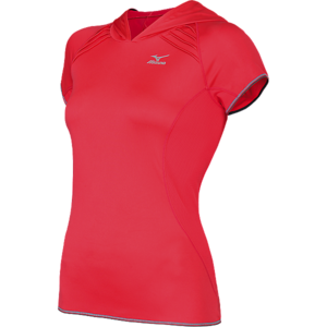 Mizuno Women's Meridian Hoodie Running Tee picture