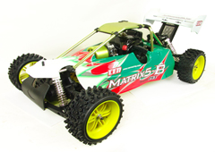 Matrix5-B 1/5th 4WD Gas Powered Buggy w/ 2.4G Radio picture