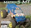 Matrix5-MT 1/5th 4WD Gas Powered Monster Truck w/o electronics additional picture 2