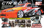 CTR 5.0 RTR Nitro Sedan: