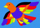 Lauri® Crepe Rubber Puzzle Bird