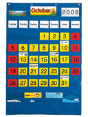 Calendar Pocket Chart (English/Spanish)