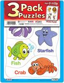 3 Pack Puzzles Set 2