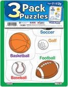 3 Pack Puzzles Set 4