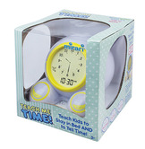 Teach Me Time!® Talking Alarm Clock & Night-Light