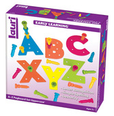 Tall-Stacker™ Pegs A to Z Pegboard™ Set Uppercase