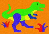 Lauri® Crepe Rubber Puzzle Tyrannosaurus