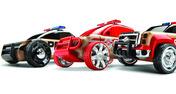 Automoblox™ Mini S9 Police/X9 Fire SUV/T900 Rescue - 3 Pack